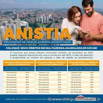 Guarulhos libera adesão à anistia de juros e multas pela internet - Click Guarulhos