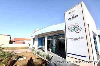 População idosa é prioridade para o Governo de SP - Click Guarulhos