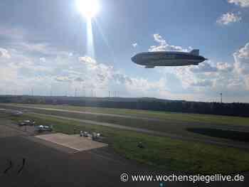Zeppelin auf der Dahlemer Binz - Eifel - WochenSpiegel
