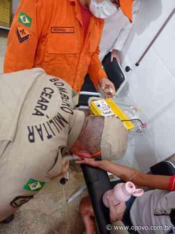 Corpo de Bombeiros retira anel preso em dedo de mulher em Itaitinga - O POVO