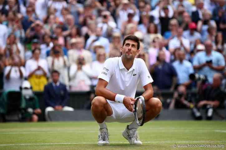 'Novak Djokovic is the top favorite at Wimbledon,' says Todd Woodbridge