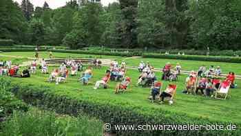 Kurgartenkonzert in Villingen - Gute Stimmung und sommerliche Temperaturen - Schwarzwälder Bote