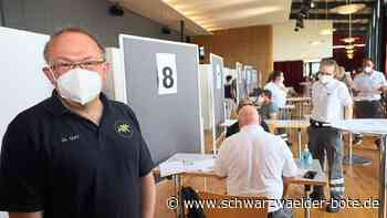 Impfaktion in Villingen - Kontingent von 850 Astrazeneca-Dosen nicht ausgeschöpft - Schwarzwälder Bote