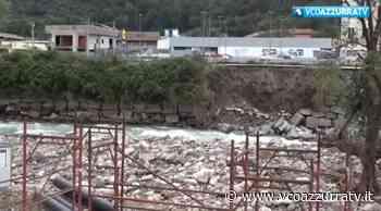 Danni alluvione Omegna, sopralluogo della Protezione Civile - Azzurra TV