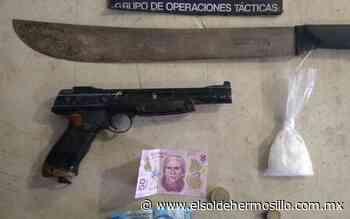 Detienen a joven con armas y droga en la Mártires de Cananea - El Sol de Hermosillo