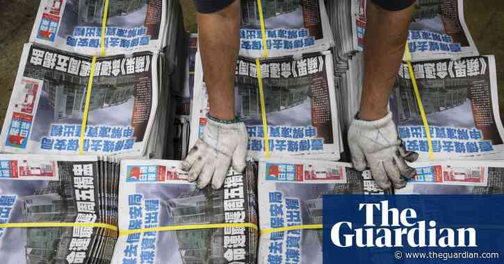 Hong Kong's leader refuses to explain how arrested Apple Daily staff broke law
