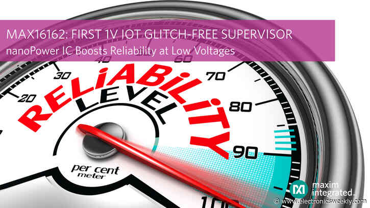 Glitch-free power-up from Maxim