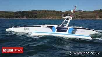 AI-driven robot Mayflower sails back after fault develops
