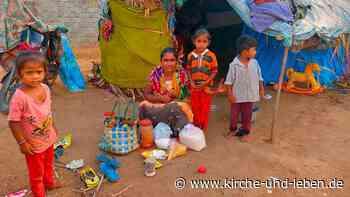 Corona-Nothilfe aus Emsdetten für Indien: Pfarrer ist überwältigt - Kirche-und-Leben.de