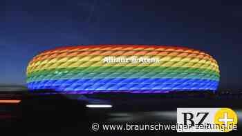 EM: Regenbogen-Beleuchtung für Stadien in Köln und Frankfurt