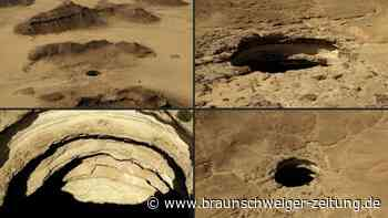 """Mysteriöser """"Höllenbrunnen"""" im Jemen ist Geologen ein Rätsel"""