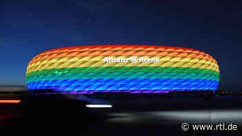 keine LQBT-Farben an Allianz Arena? Eintracht Frankfurt will Deutsche Bank Park bunt leuchten lassen - RTL Online