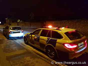 Disqualified driver spends night in Chichester custody suite