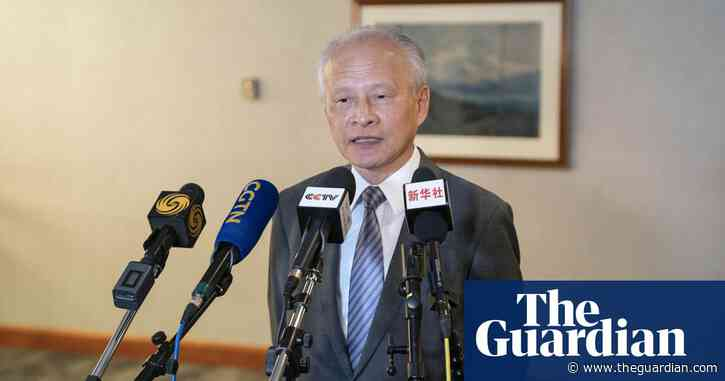 China's ambassador to the US to leave after eight years