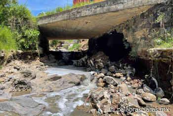 Atienden socavón en la carretera Xalapa-El Castillo | PalabrasClaras.mx - PalabrasClaras.mx