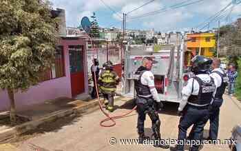 Olvidan veladora encendida y se incendia casa, en colonia de Xalapa - Diario de Xalapa