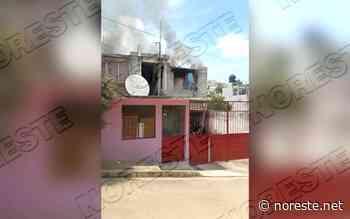Incendio de vivienda moviliza a cuerpos de socorro en Xalapa - NORESTE