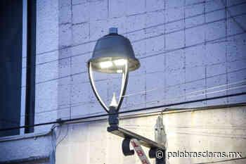 Instala Ayuntamiento luminarias LED en centro de Xalapa | PalabrasClaras.mx - PalabrasClaras.mx