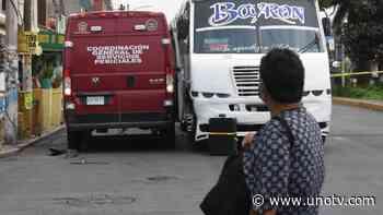 FUERTE VIDEO: Camión pasa sobre adulto mayor que quería cruzar avenida en Xalapa - Uno TV Noticias