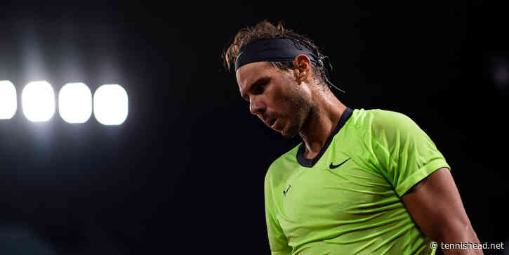 'Rafael Nadal is exhausted and close to the point of great mental fatigue,' says coach - Tennishead