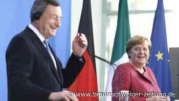 Merkel: Die Italiener spielen ja nicht schlecht