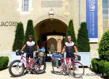 Landes : en sept jours, par la Vélodyssée, ils ont relié Roscoff à Hendaye, avant de revenir à Saint-Sever - Sud Ouest
