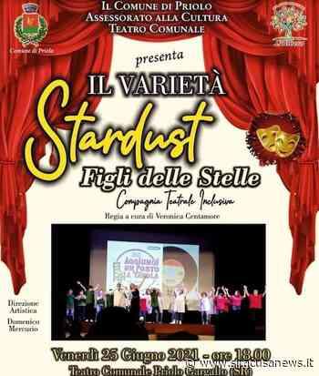 """Priolo Gargallo, al Teatro comunale il varietà """"Stardust-Figli delle Stelle"""" - Siracusa News"""
