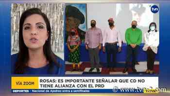 Ana Giselle Rosas dice que CD no es 'segundón de nadie', asegura que no respaldará a Crispiano Adames - TVN Noticias