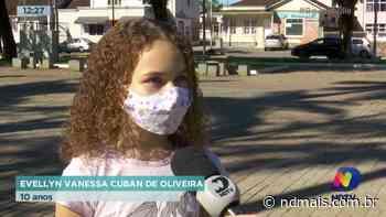 Centro de Joinville: Projeto de revitalização abre espaço de lazer para toda a família - ND