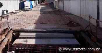 Prefeitura de Joinville quer usar robôs para percorrer galerias do Mathias - NSC Total