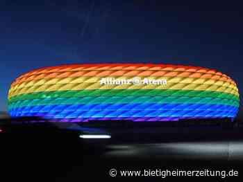 EM-Zeichen: Regenbogen-Beleuchtung für Stadien in Köln und Frankfurt - Bietigheimer Zeitung