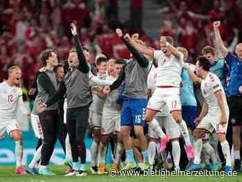 Fußball-EM: Kopenhagens magische Nacht: Tausende feiern dänischen Erfolg - Bietigheimer Zeitung