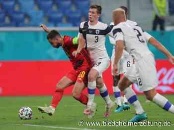 Fußball-EM: Belgien-Coach Martínez über Hazard: Stark und glücklich - Bietigheimer Zeitung