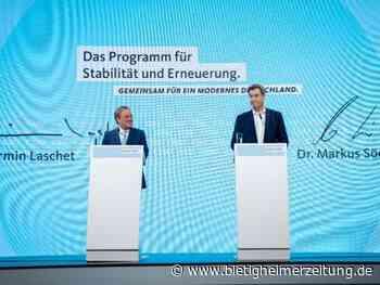 Bundestagswahl: Grüne und SPD: Unions-Wahlprogramm ist unsozial und planlos - Bietigheimer Zeitung