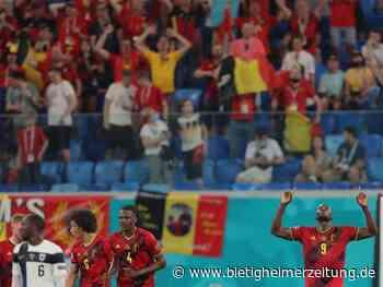 Fußball-EM: Belgien holt dritten EM-Vorrundensieg - Finnland muss bangen - Bietigheimer Zeitung