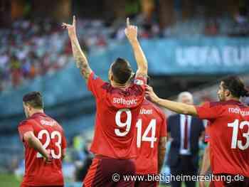 Fußball-EM: Shaqiri wahrt Schweizer Achtelfinal-Chance - Aus für Türkei - Bietigheimer Zeitung