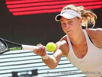ATP- und WTA-Tour: Tennis: Qualifikantin Samsonowa überrascht in Berlin - Bietigheimer Zeitung