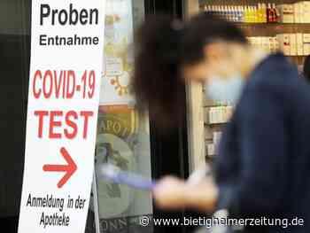 Sinkende Nachfrage: Viele Apotheken wollen Corona-Testangebot zurückfahren - Bietigheimer Zeitung