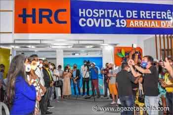 Porto Seguro: com recursos do município prefeito Jânio Natal inaugurou nesta quinta-feira, o Hospital de Referência Covid - aGazeta Bahia