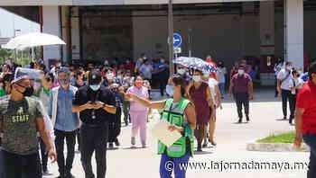 Más de 21 mil participantes en el Simulacro Nacional en Campeche - La Jornada Maya