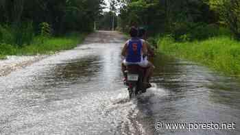 Inundaciones en Chemblás, Campeche, a causa de una falla en el dren, acusan - PorEsto