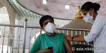 Coronavirus latest: India delivers record 8.6m vaccine shots - Nikkei Asia