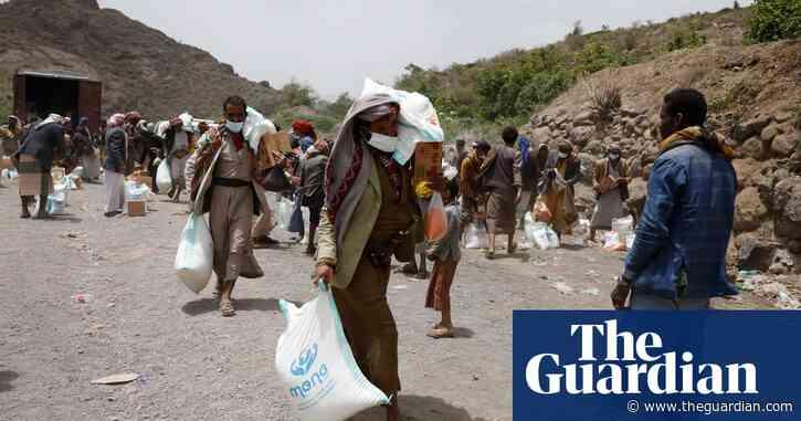 UK aid cut behind $284m fall in global  humanitarian spending