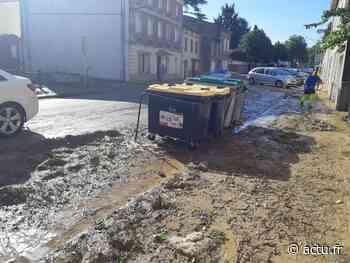 Villefranche-de-Lauragais. Des coulées de boue en centre-ville après le violent orage de la nuit - La Voix du Midi Lauragais