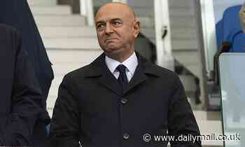 Tottenham chairman Daniel Levy is 'chasing his tail', says Hoddle