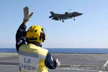 British aircraft carrier deployed in first direct action against Isis