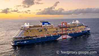 Celebrity Apex sets sail on maiden cruise
