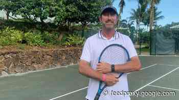 A new tennis pro is holding court at the Four Seasons Lanai