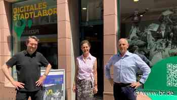 Aschaffenburg: Stadt öffnet Digitalladen - BR24