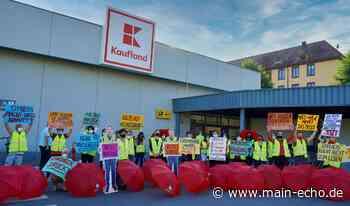 Streik bei Kaufland in Aschaffenburg - Main-Echo
